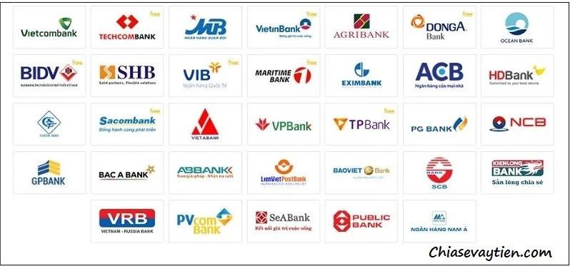Các ngân hàng chấp nhập quy đổi tiền Won sang tiền Việt