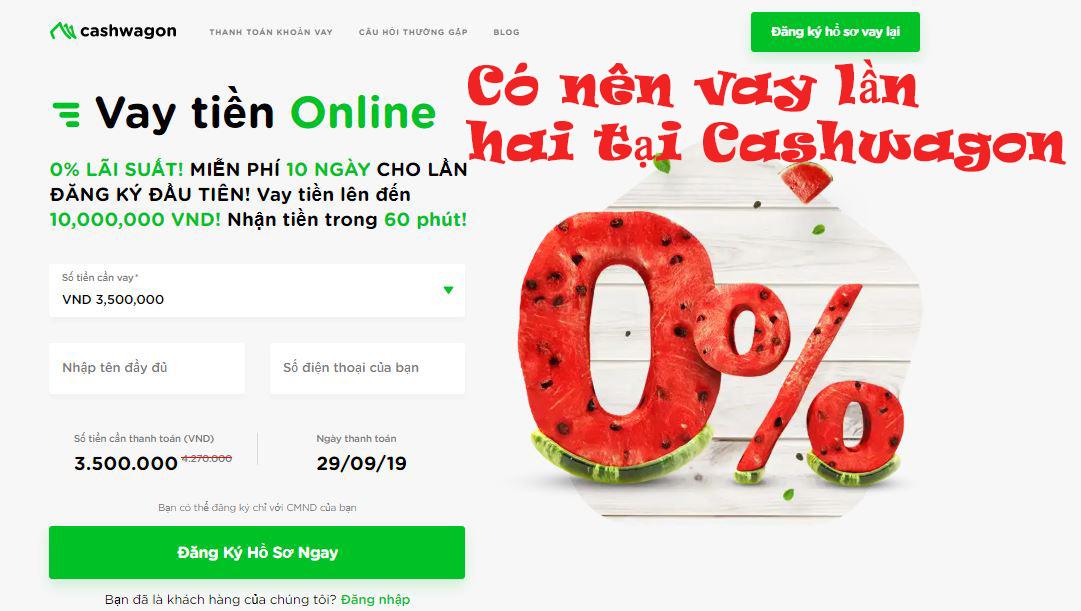 Vay tiền nhanh Online với Cashwagon