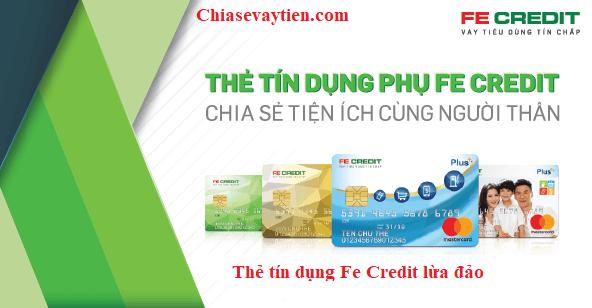 Thẻ tín dụng Fe Credit lừa đảo